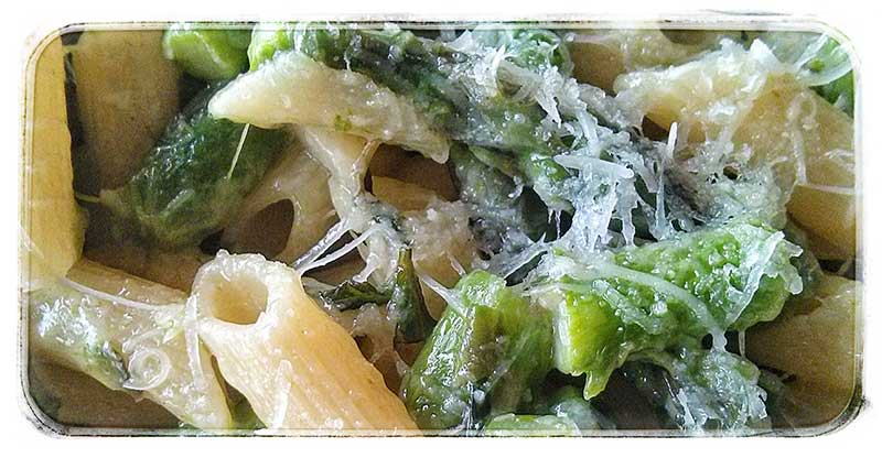 pasta with asparagus picture