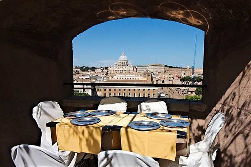 castel sant'angelo view